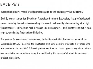 About BACE Panel